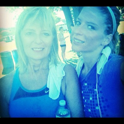 My #mother #post #race - she looks amazing!!  (Taken with Instagram)