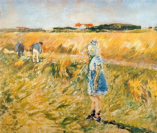 Karsten, Ludvig (1876-1926) - 1923 Girl in the Cornfields by RasMarley on Flickr.