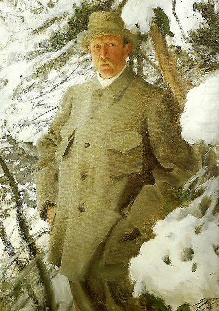 Zorn, Anders (1860-1920) - 1906 The Painter Bruno Liljefors by RasMarley on Flickr.