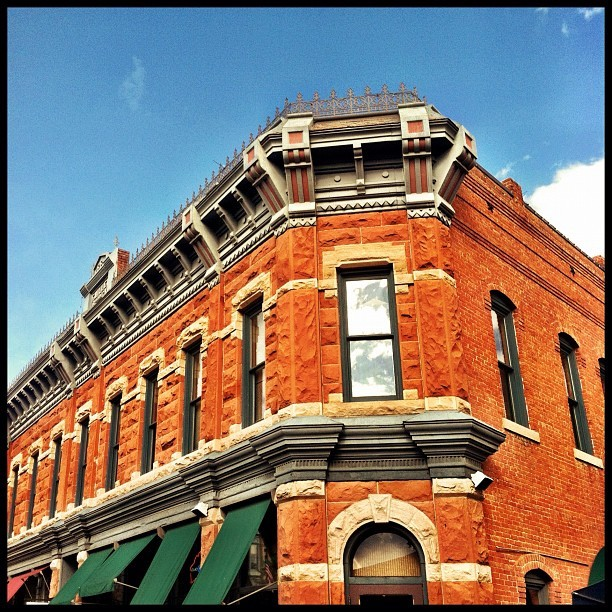 Old Town Fort Collins (Taken with Instagram at Old Town Square)