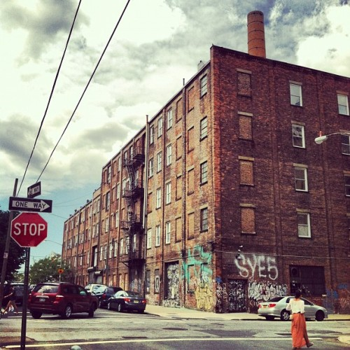 Berry St., Williamsburg, Brooklyn (Taken with Instagram)