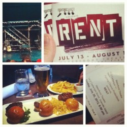 #Datenight #RENT (Taken with Instagram)