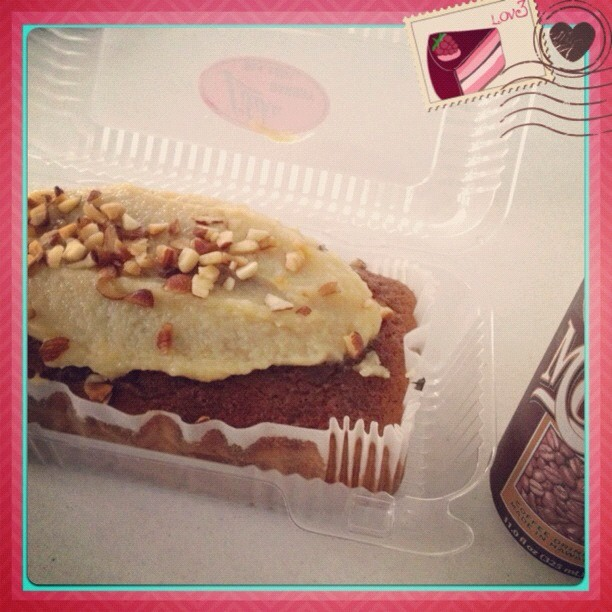 #breakfast Liliha bakery's #banana chantilly loaf & #icedmocha.. I #love this more than their Cocoa puffs!  😉 #soogood #yummy #onolicious #onlyinhawaii #hawaiian #hawaiilife #haynaloha #iloveeefood #foodie #foodporn #gottalove #gottatrythis #5stars #heaven 😊💜✌ (Taken with Instagram at Our🏠Pad✨)