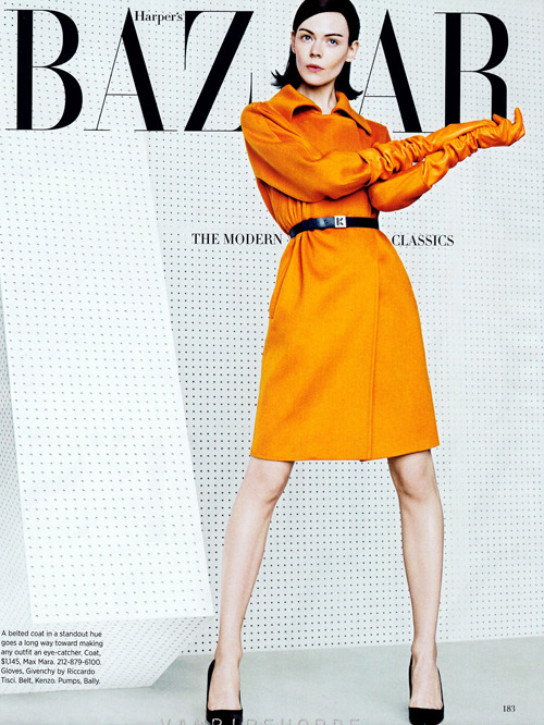 """The Modern Classics"" (+)  Harper's Bazaar, May 2012  photographer: Kacper Kasprzyk  Kinga Rajzak"