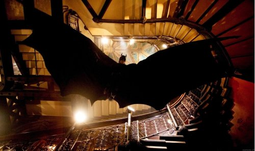 quantumaniac:  Trajectory of a Falling Batman The Nolan Batman films show the character of Batman gliding using a rigid form of his cape. This paper assesses the feasibility of such a glide and finds that while a reasonable distance could be travelled if gliding from a tall building, the speed at which Batman would be travelling would be too dangerous to stop without some method of slowing down. Read the full paper here!