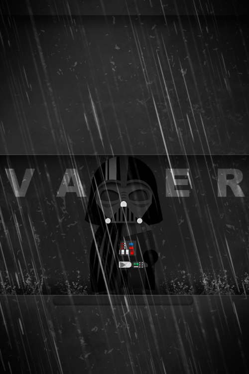 """Rise Lord Vader"" iPhone Wallpaper Created by Almir Sahinovic deviantART 
