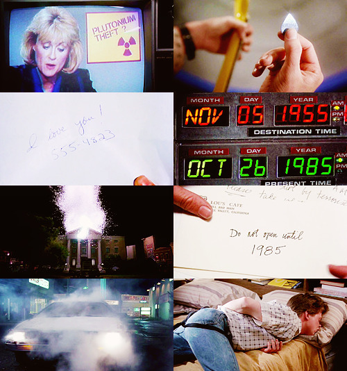 [?] - Favorite movie(s) → Back to the Future [2/5]