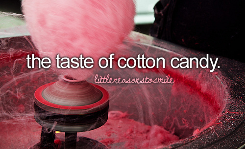 Omfg , cotton candy <3
