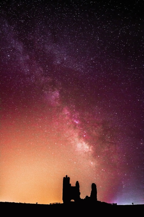 Milky Way Over The Shadows By Adrian Cabello Lorenzo