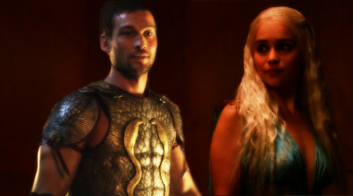 Spartacus see Daenerys in her blue dress.