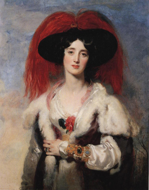 Sir Thomas Lawrence - Lady Peel