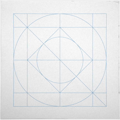 geometrydaily:  #205 Harmony – A new minimal geometric composition each day