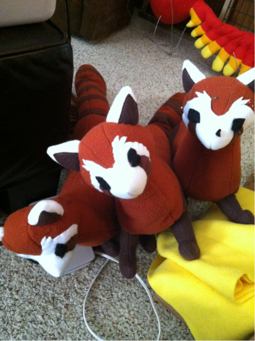 I will have a few Pabu's selling at Otakon! almost done with them :D Facebook~Deviantart~Etsy