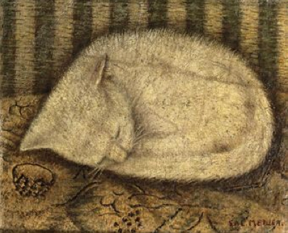 White Cat by Sal Meijer There is, incidentally, no way of talking about cats that enables one to come off as a sane person. – Dan Greenberg