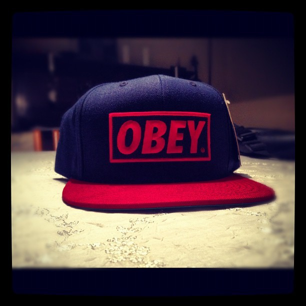 #Obey #shopping #Berlin #Germany #love #it #swag #style #nice #danm #fashion #cap #red #blue #sexy #summer #hot #lågsus #usa #guy #girl (Taken with Instagram)