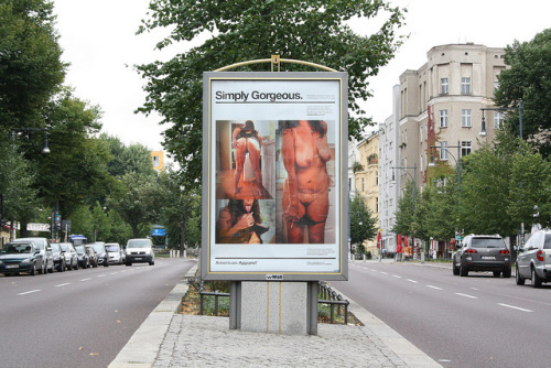 "street art berlin (""American Apparel"") on Flickr."