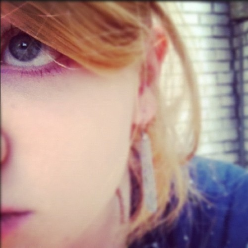 my purple eyeliner is snazzy you guys (Taken with Instagram)