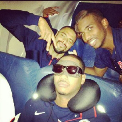 #USAbasketball2012 from KD…they got Melo! LMAO! (Taken with Instagram)
