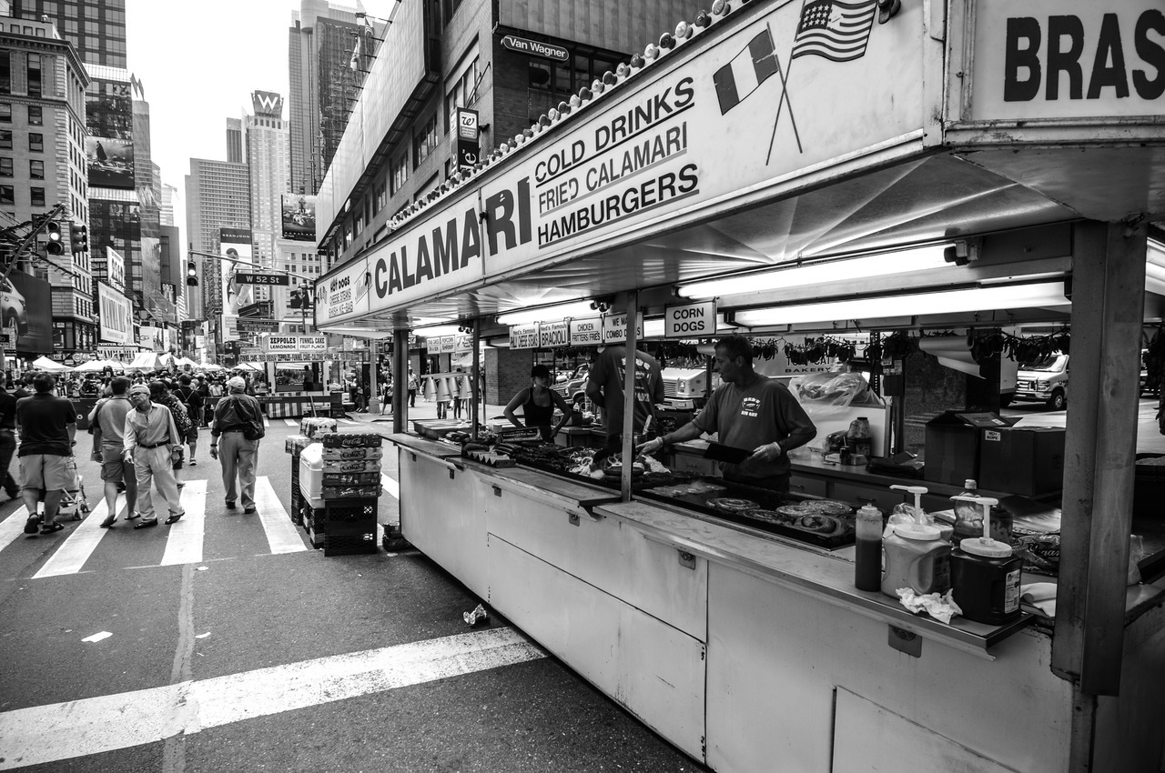 Times Square Street Fair, NYC