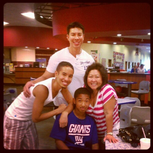 We are a bowling family #strikes #family #rocklintime (Taken with Instagram)