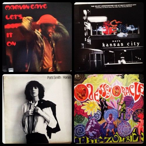 today in purchases: Recordz, recordz, recordz.