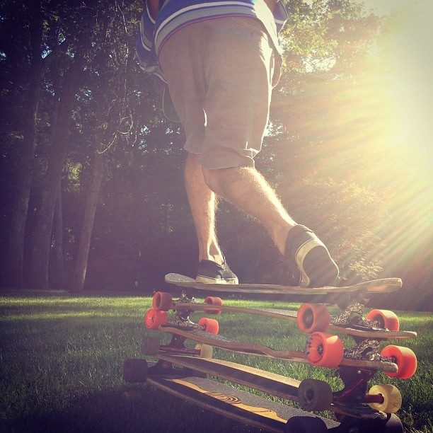 Speed Tuckin' #longboarding #longboard #skate #skateboarding #longboards #steez #dope #fly #swag #ill #balance #dope #sick  (Taken with Instagram at Weston, Ma)