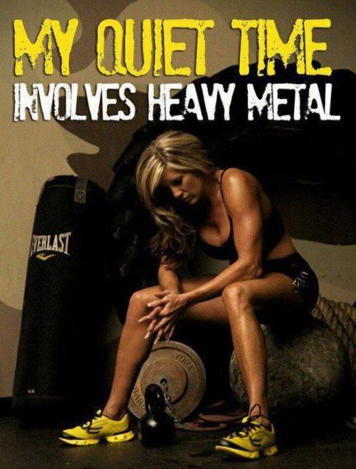 reaching4mypotential:  Heavy Metal.
