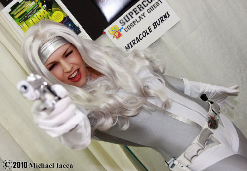 Miracole Burns as Silver Sable Photography: Insane-Pencil
