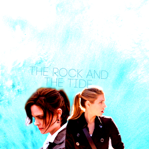winnicking:  The Rock and the Tide; An AU where Hannah and Temperance met a few years before the series starts, before either of them ever met Booth. includes a prologue and drabbles for each song.  Stay And Defend → Wolf GangLève les voiles → Coeur de pirateIridescent → Linkin ParkSins of My Youth → Neon TreesRaise Today → PeasantMasochist → Ingrid MichalesonSing → The Classic CrimeValium → Lisa MitchellHappiness → The FrayYour Biggest Mistake → Ellie GouldingAtlas Hands → Benjamin Francis LeftwichAll on You → honeyhoneyShoutalong → Man & GhostMy Father's Father → The Civil WarsThe Rock and the Tide → Joshua Radin
