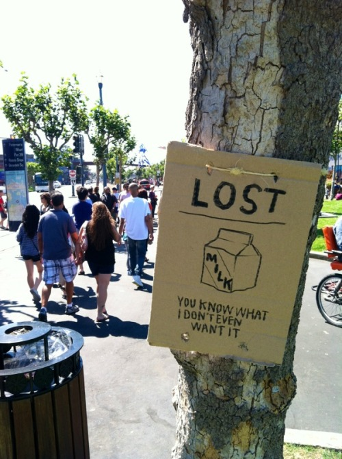 LOST : MILK http://bit.ly/OgI8cD