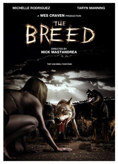 The Breed (2006)  A group of college kids go to a house in a remote island that belonged to two of the kid's uncle to relax and have fun before finals. We meet the group at once, and you really can't get more stereotypical than these characters. Within the first night they find a stray puppy, when the puppy runs away one of the girls runs off to catch it, alongside one of the guys join. When she finally catches up to the pup and calls for him a bigger, and much more aggressive dog pounces on her and ends up taking a bite. As they rush her off into the house and clean up her wounds they want to go back home, after she reassures them that she's fine they decide to stay.   That's when things start going awry, and when we find out that there's more than just one angry dog on the island. The island is practically deserted from wild animals and people. When the girl who gets bit starts feeling sick and there's a mishap with a now and arrow the group are left stranded inside a house, while a pack of dogs surround the outside of the house.   The film does pack quite a lot of action. First and foremost don't expect to see mutant dogs, or a ton of cgi, or even werewolves, what we're dealing with are real dogs, that have real vicious thoughts, they team up in attacks, and they are anything but friendly.   Throughout the film there's plenty of laughs, dogs will jump through windows, into water, or attack all at once. They're smart, which makes them extremely terrifying, and the deaths that follow are equally as funny as they ate terrifying (terrifying if you're afraid of dog bites, which might raise the tension while watching this) but the blood/gore isn't overdone, in fact it's rather minimal.   The plot is there, although with a lot of holes and no real answers. What really becomes the icing to this film is Michelle Rodriguez, not only is she a babe but she seems to be the only one who could get the acting done right in the movie. She killed this role. This movie is worth a watch, even if it's just once. It's far from boring, will keep you entertained, and do I have to mention what a babe Michelle Rodriguez is?   The only things that would take away from this movie being a GREAT movie would be the crappy acting by the supporting class, the plot holes, and maybe some more deaths. Overall? Fun film, good laughs, and plenty of dogs for all of you dog lovers.   6.75/10 rotting corpses  C. Vengeance
