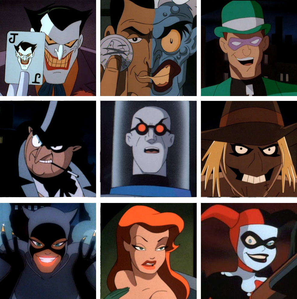 more-like-a-justice-league:  Batman the Animated Series Villains