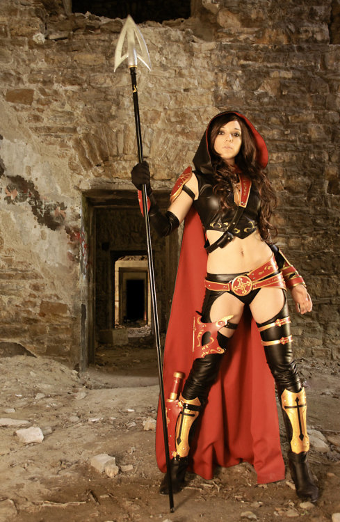 comicbookcosplay:  illyne as The Magdalena Photography by JL Valdenaire