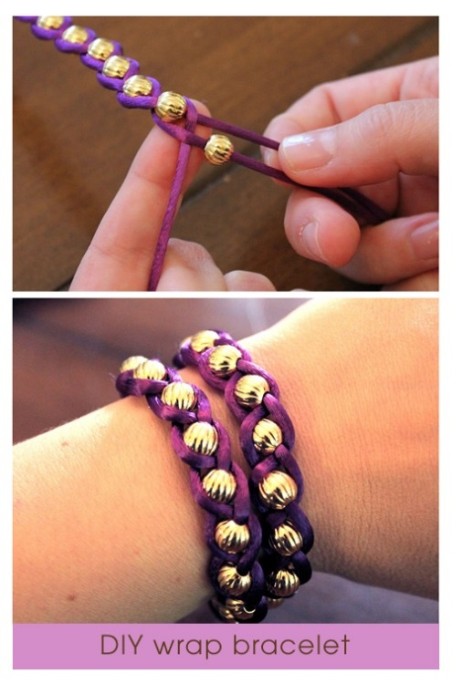 hollese:  I love these DIY bracelets! They look easy to make and would make great presents for friends. Hollese x