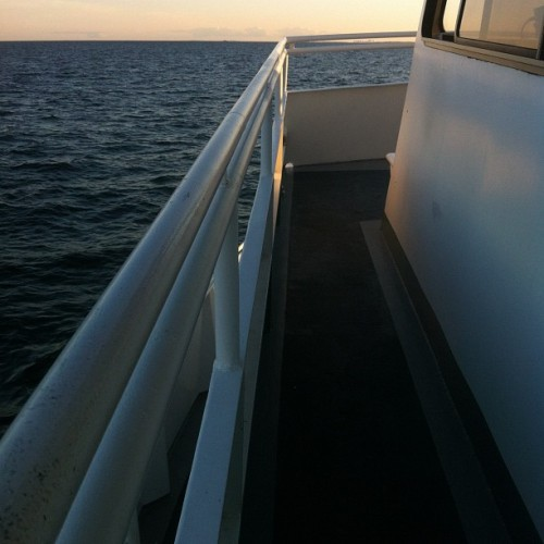 Im on a boat motherfuckers  (Taken with Instagram)