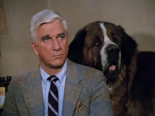 I just want to tell you good luck. We're all counting on you. -Leslie Nielsen on Fresh Air
