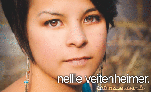 #teamnellie :) you can follow her on tumblr and twitter, she's my inspiration♥