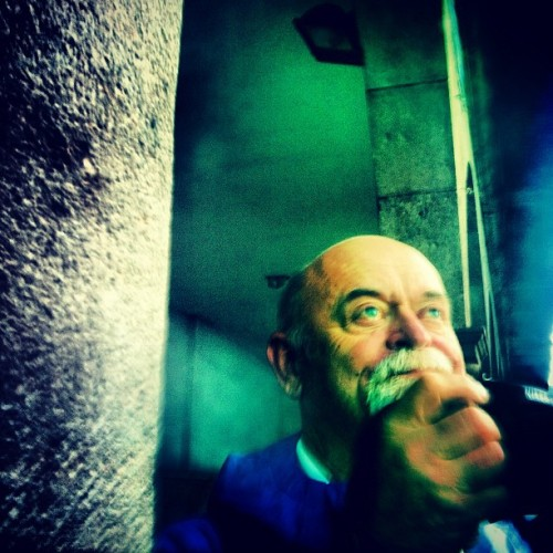pops feelin it on his birthday (Taken with Instagram at Plaza de Armas de Cusco)