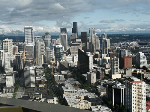 lovethenorthwest:  Top of Space Needle! June 2012