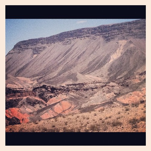 It was a hot one out there today :) (Taken with Instagram at Lake Mead National Recreation Area)