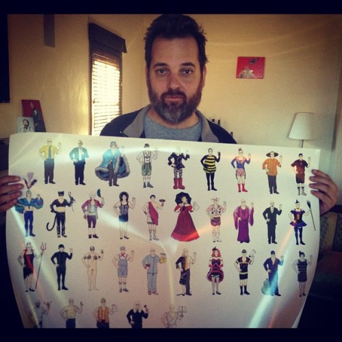 !!! That's a pretty cool poster, Dan Harmon! Buy it here: http://dennisculver.bigcartel.com/product/deanfinity Edit: Pretty excited! Posters are 25% off if you'd like one!