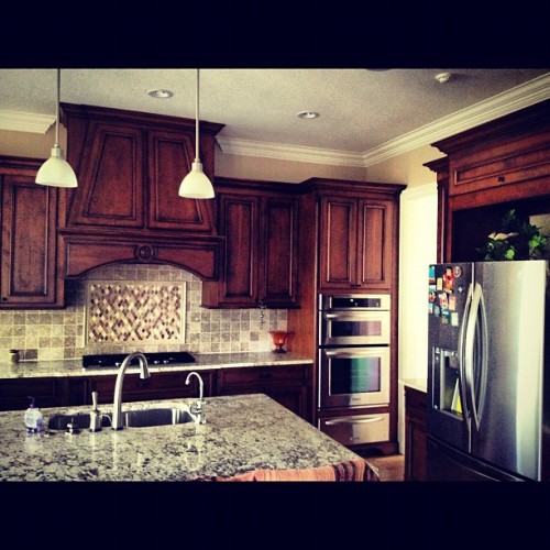 My favorite part of my house. Lol #tweegram #statigram #iger #igers #igdaily #instagood #instamood #instagramers #kitchen #house #big #yay #awesome #hastage #followback #foodie #followback #kitchen #fridge #wood #woot #5likes  (Taken with Instagram at Atlanta Rd & Paces Ferry)