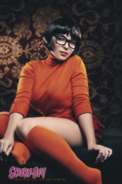 Here is the exotic beauty Maria Ramos cosplaying as a sexy Velma from Scooby-Doo! Maria loves anime and is a model, cosplayer, and gamer. There's even a bonus .. [Read More]