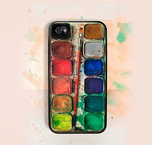 teachingliteracy:  Watercolors iPhone Case