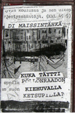 "Di Maissintähkä- Kuka Täytti Pöllonraadön Kiehuvalla Ketsupilla? This is quite possibly the best thing I have ever heard. Di Maissintähkä (Two Corn Cobs) are Toni Mix and Jae X, and by the sound of their voices I would say they were anywhere between 7 and 12 years of age when they began recording these. According to the insert, the 21 tracks were recorded in the '70s and '80s in a mental hospital. Appropriate. I assure you, there is nothing like this tape out there. Little kids screaming, howling, and singing while banging and rattling anything they can get their hands on. None of the tracks reach the 2 minute mark, most of them don't even reach 60 seconds, but that doesn't stop them from packing a heavy punch. Most of the tracks stick to vocals alongside ""pot and pan""-esque instrumentation, but towards the end some unexpected electronics get thrown in. I'm assuming that is what was recorded in the later years of when these all took place. There is very little known about the band, these tracks were cuts from a few different, lengthier albums that have never been released as far as I know. I suggest buying this tape more than any other album I will probably ever talk about."