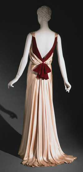 Evening Dress Augustabernard, 1933 The Philadelphia Museum of Art