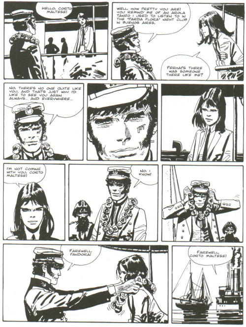flipflopfrontier:  Corto Maltese: The Ballad of the Salt Sea by Hugo Pratt