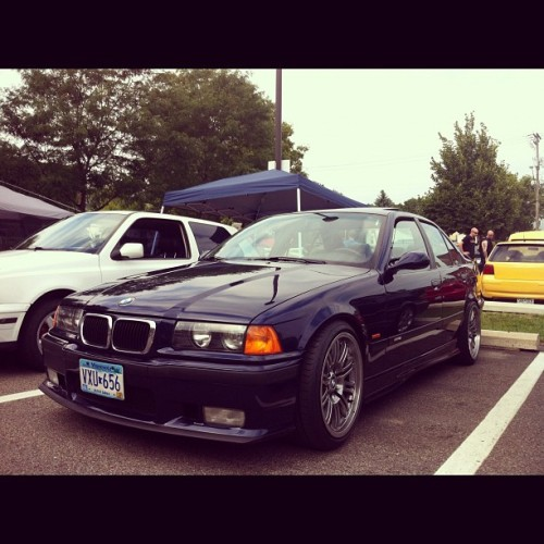 I love the E36 M3's (Taken with Instagram)