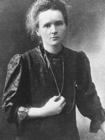 notentirely:  this is marie curie. she won the nobel prize in physics in 1903. oh, and then she won another one in 1911. this time for chemistry. she's the only person - ever - to win two nobel prizes for two different scientific fields. she died in 1934 in france, a decade before she was allowed to vote.