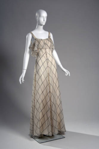 Dress Valentina, 1934 The Chicago History Museum